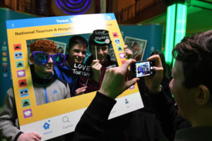 "Repro FREE - Repro Free - mannequin challenge Students hold the pose while taking part in the mannequin challenge with 250 other students in the INEC Killarney . NATIONAL TOURISM CAREERS ROADSHOW Over 250 students from schools across the south west gathered at the INEC, Killarney, Co Kerry today (8th February 2017) for a Tourism & Hospitality Careers Roadshow where they got a flavour of the wide variety of careers available in the tourism and hospitality industry Photo By Domnick Walsh © Eye Focus LTD - www.dwalshphoto.ie Tralee Co Kerry Ireland Mobile Phone : 00353 87 26 72 033 Land Line : 00 353 66 71 22 981 E/mail : info@dwalshphoto.ie WEB Site : www.dwalshphoto.ie PRESS INFO -- NATIONAL TOURISM CAREERS ROADSHOW Over 250 students from schools across the south west gathered at the INEC, Killarney, Co Kerry today (8th February 2017) for a Tourism & Hospitality Careers Roadshow where they got a flavour of the wide variety of careers available in the tourism and hospitality industry and the various career paths they can take to get started. Organised by the Irish Hotels Federation (IHF) in association with the Irish Hospitality Institute (IHI), IT Tralee, Cork IT and Regional Skills, the initiative is part of the industry-led careers programme launched last year for 15-18 year olds. The Tourism & Hospitality Careers Roadshow in Killarney was the first in a series of events planned for across the country over the coming months. It was run in close collaboration with local tourism and hospitality businesses, many of whom were present to give the students a personal insight into training and working in the sector. Meanwhile students and lecturers from IT Tralee and Cork IT were also on hand to talk about the various tourism and hospitality courses that are available. The students and their Guidance Counsellors received copies of Get a Life in Tourism, the IHF's free digital and print magazine on tourism career options. They were also introduced to ""Tou"