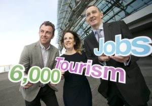 The National Tourism and Hospitality Careers Roadshow organised by the Irish Hotels Federation (IHF) and Dublin Regional Skills at the Aviva Stadium. The industry-led initiative gives 15-18 year olds a first-hand view of the career choices available in the sector. Each year hospitality and tourism businesses around the country look to recruit over 6,000 entry-level employees across all areas of their operations. Photo Chris Bellew /Fennell Photography.
